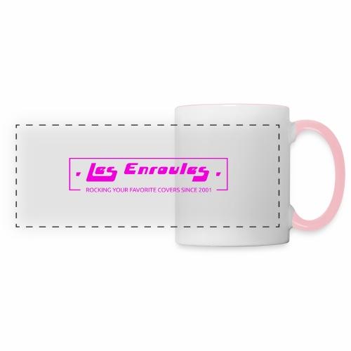 Rocking since 2001! Pink - Mug panoramique contrasté et blanc