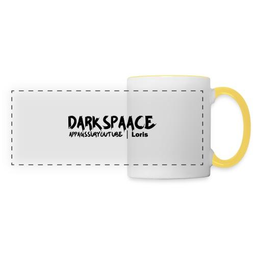 Habits & Accésoire - Private Membre DarkSpaace - Mug panoramique contrasté et blanc