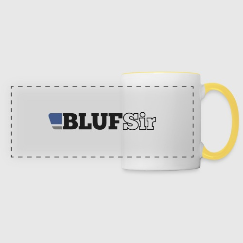 BLUF Sir - Panoramic Mug