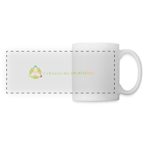 I choose my breathing V2 - Mug panoramique contrasté et blanc
