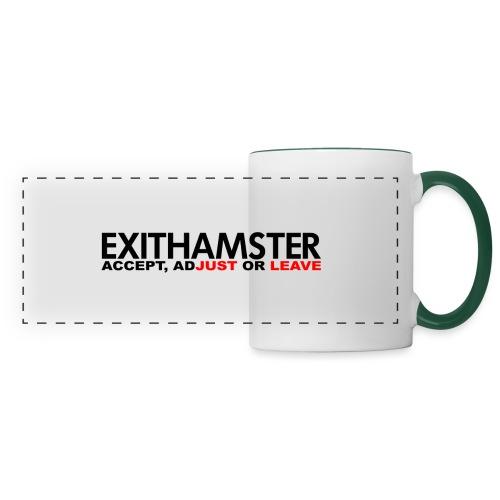 EXITHAMSTER JUST LEAVE png - Panoramic Mug