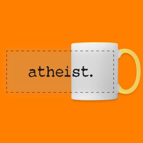 atheist BLACK - Panoramic Mug