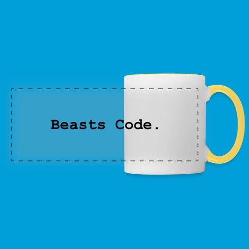 Beasts Code. - Panoramic Mug