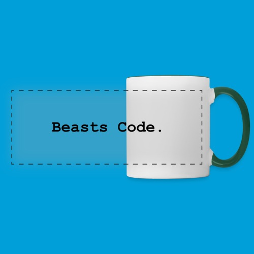 Beasts Code. - Panoramic Mug
