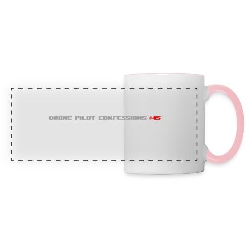 I CRASH A LOT - Panoramic Mug