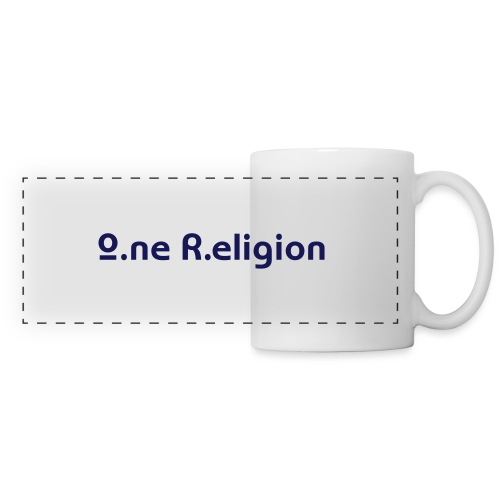 O.ne R.eligion Only - Mug panoramique contrasté et blanc