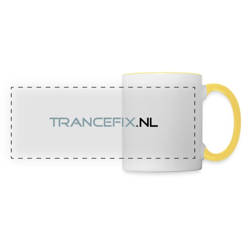 trancefix text - Panoramic Mug