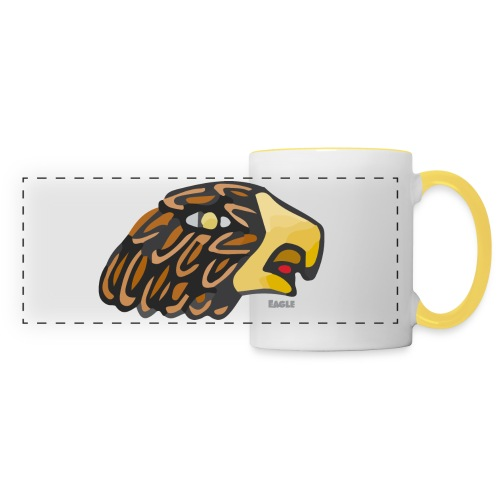Aztec Icon Eagle - Panoramic Mug