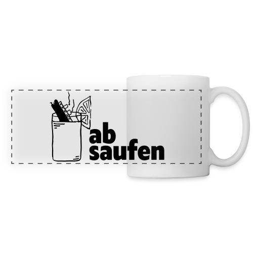 absaufen - Panoramatasse