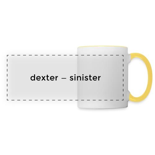 dexter sinister - Panoramamugg