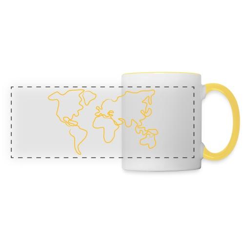 Wereldkaart - Panoramamok
