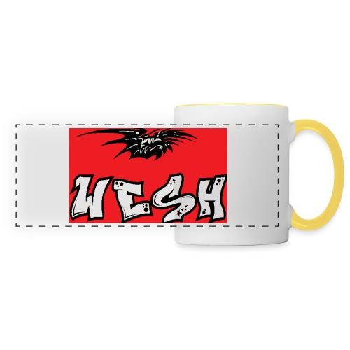 Wesh - Mug panoramique contrasté et blanc
