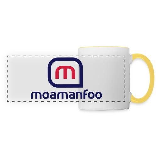 Moamanfoo - Mug panoramique contrasté et blanc