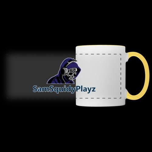 SamSquidyplayz skeleton - Panoramic Mug