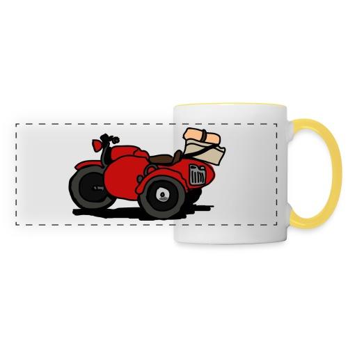 side rouge - Mug panoramique contrasté et blanc