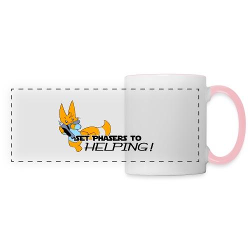 Set Phasers to Helping - Panoramic Mug