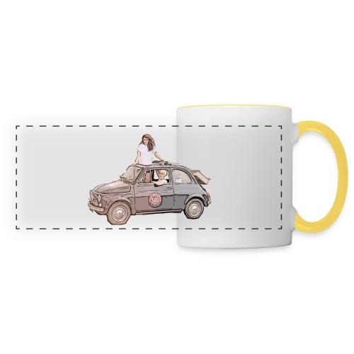 Ma Titine 500 - Mug panoramique contrasté et blanc