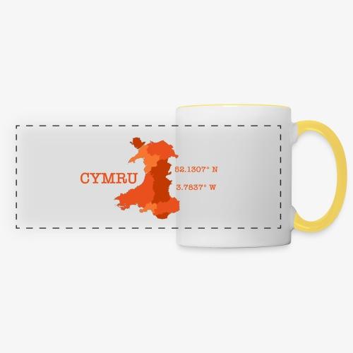 Cymru - Latitude / Longitude - Panoramic Mug