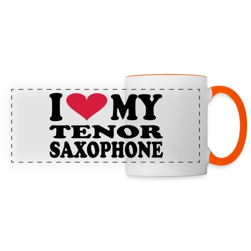 I Love My TENOR SAXOPHONE - Panoramic Mug