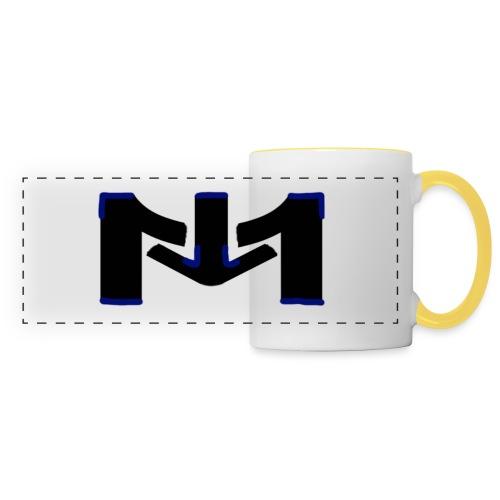 Mousta spécial accéssoire - Mug panoramique contrasté et blanc