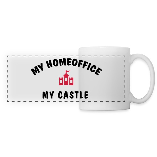 MY HOMEOFFICE MY CASTLE - Panoramatasse