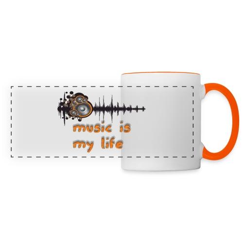 Music is my Life - Tazza con vista