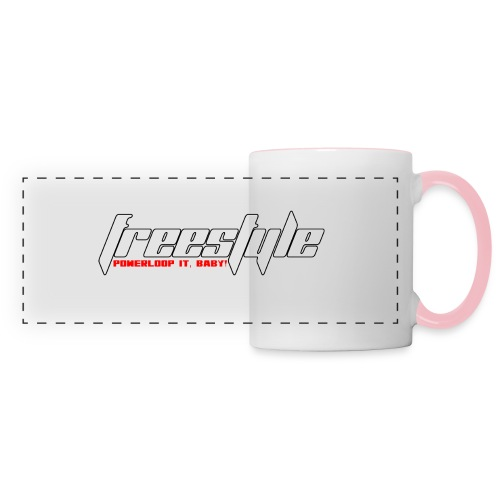 Freestyle - Powerlooping, baby! - Panoramic Mug