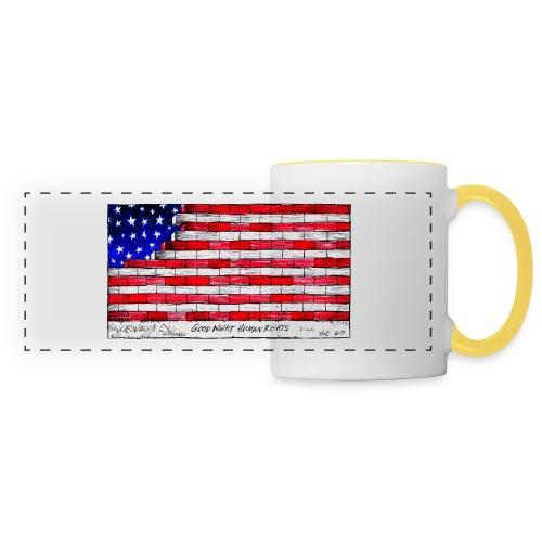 Good Night Human Rights - Panoramic Mug