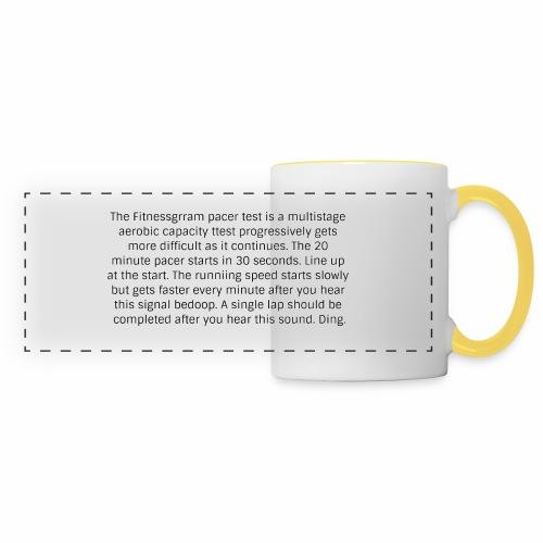 FitnessGram pacer Test - Panoramic Mug
