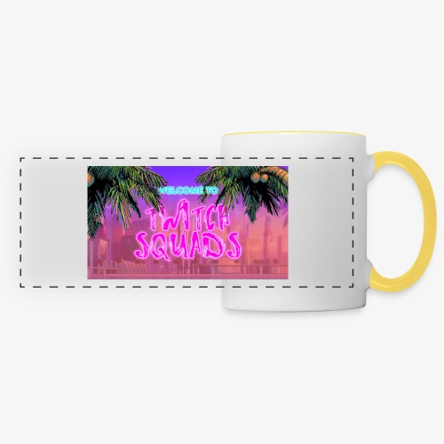 Welcome To Twitch Squads - Panoramic Mug