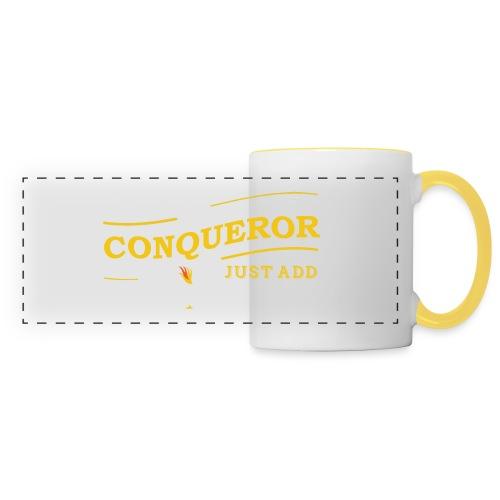 Instant Conqueror, Just Add Dragons - Panoramic Mug