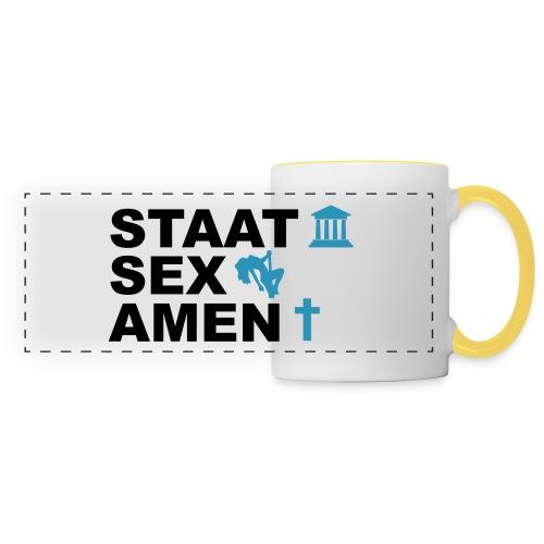 Staatsexamen / Staat Sex Amen - Panoramatasse