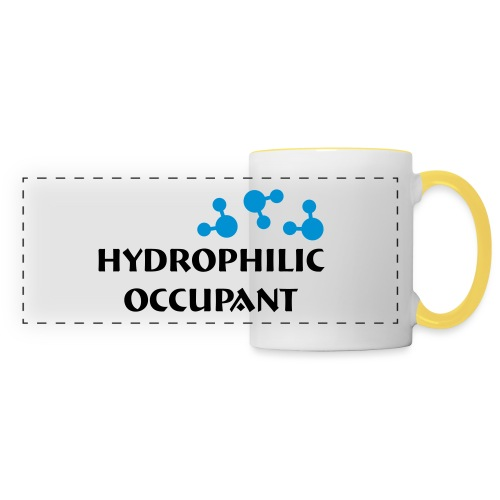 Hydrophilic Occupant (2 colour vector graphic) - Panoramic Mug