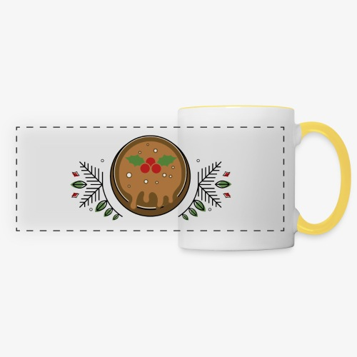 CHRISTMAS PUDDING - Panoramic Mug