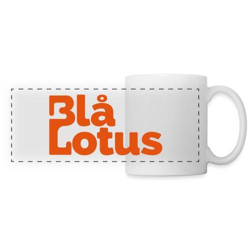 Blå Lotus_logo - Panoramamugg