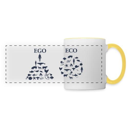 Ego VS Eco - Tazza con vista