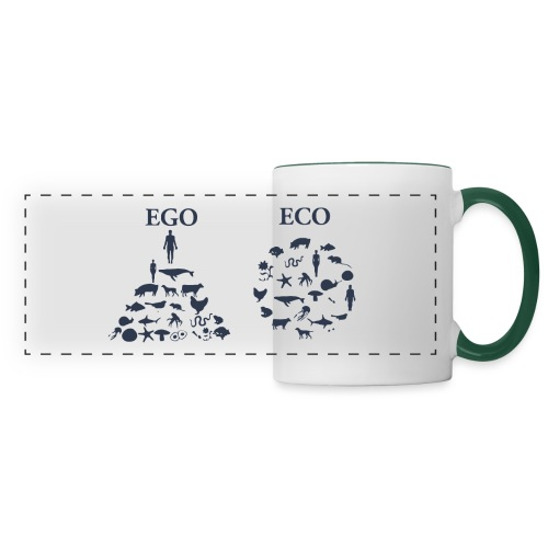 Ego VS Eco - Tazza con vista