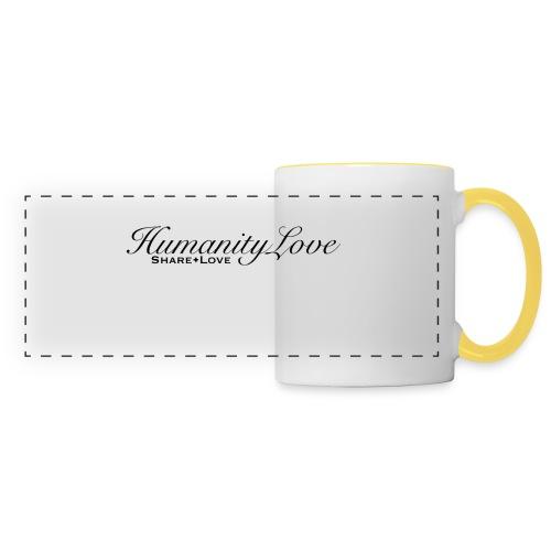 Humanity love - Panoramatasse