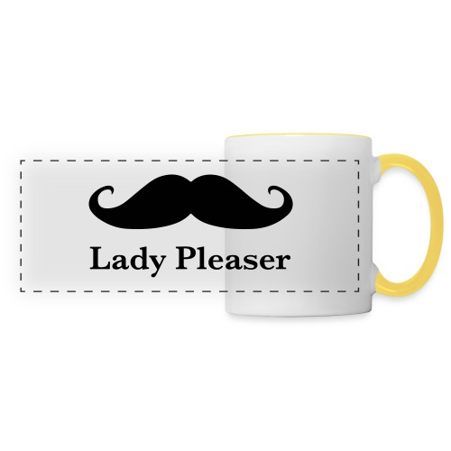 Lady Pleaser T-Shirt in Green - Panoramic Mug