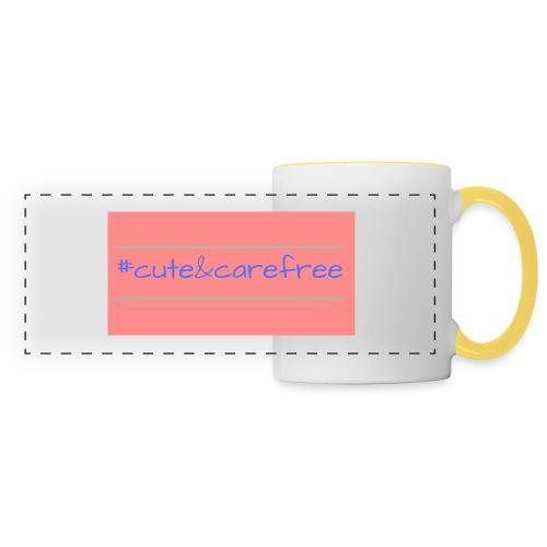 Cute & Carefree - Panoramic Mug