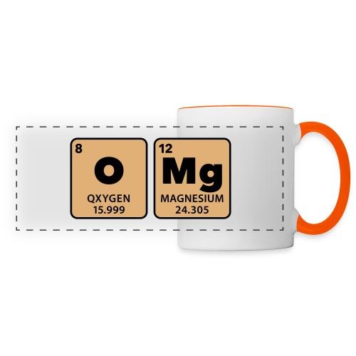 periodic table omg oxygen magnesium Oh mein Gott - Panoramic Mug