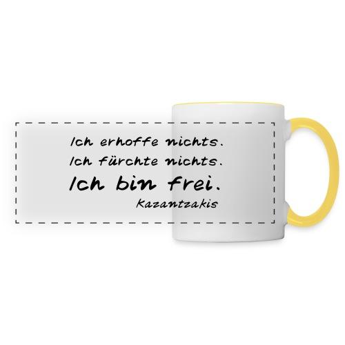 Kazantzakis - Ich bin frei! - Panoramatasse