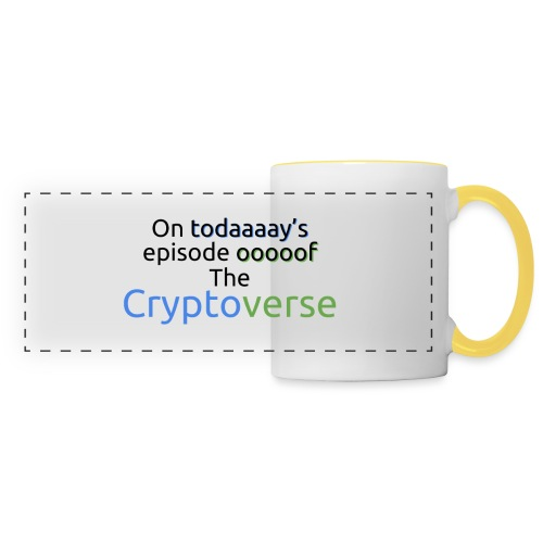 On Today's Episode Of The Cryptoverse - Panoramic Mug