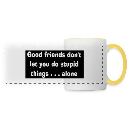 good friends - Panoramic Mug