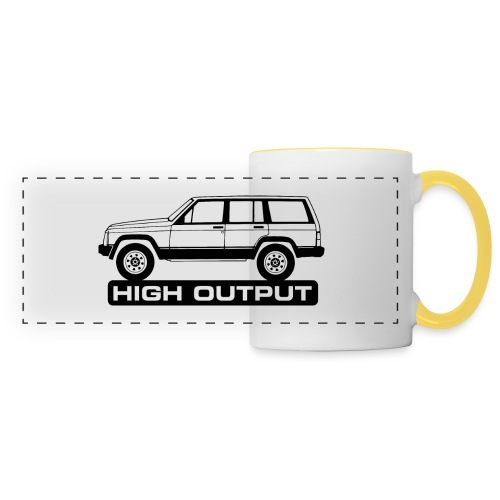 Jeep XJ High Output - Autonaut.com - Panoramic Mug