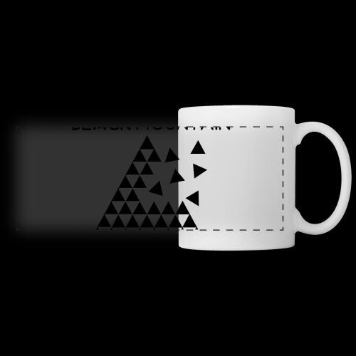 Black Mountain - Mug panoramique contrasté et blanc