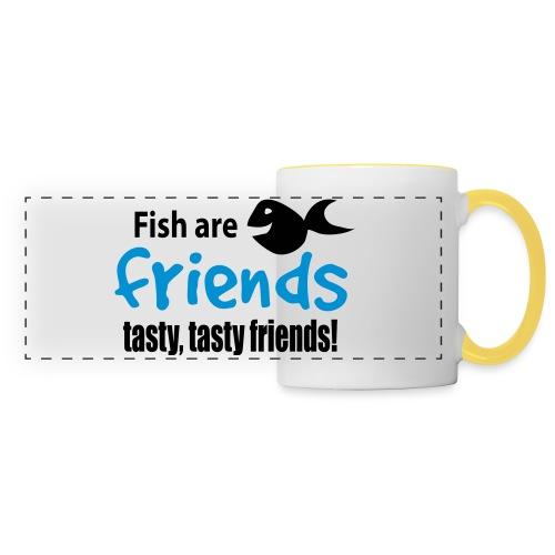 Fisk er venner - Panoramakopp
