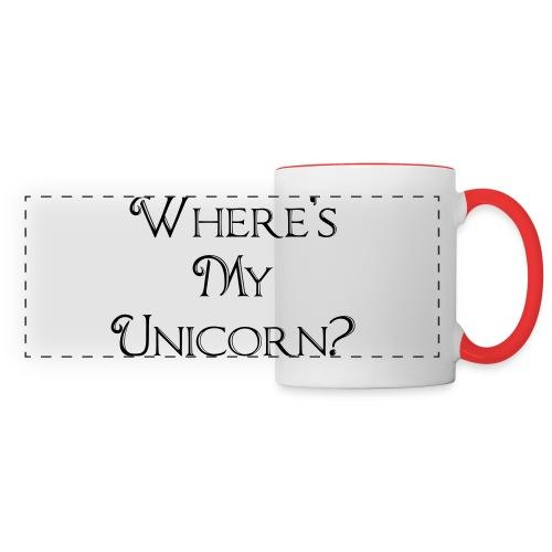 Where's My Unicorn - Panoramic Mug