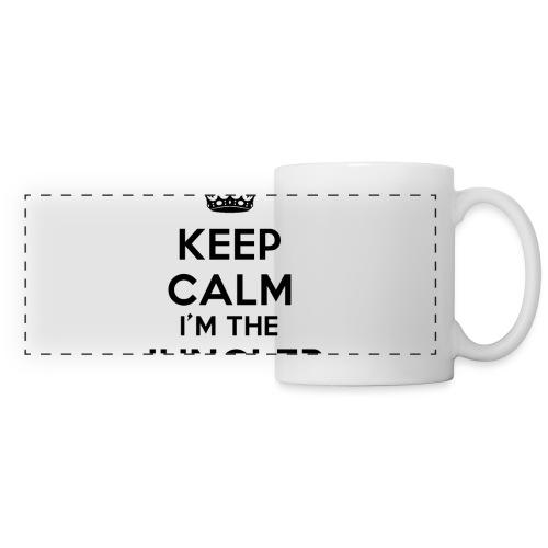 Keep calm I'm the Jungler - Mug panoramique contrasté et blanc