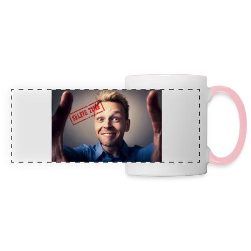 Selfy time - Panoramic Mug
